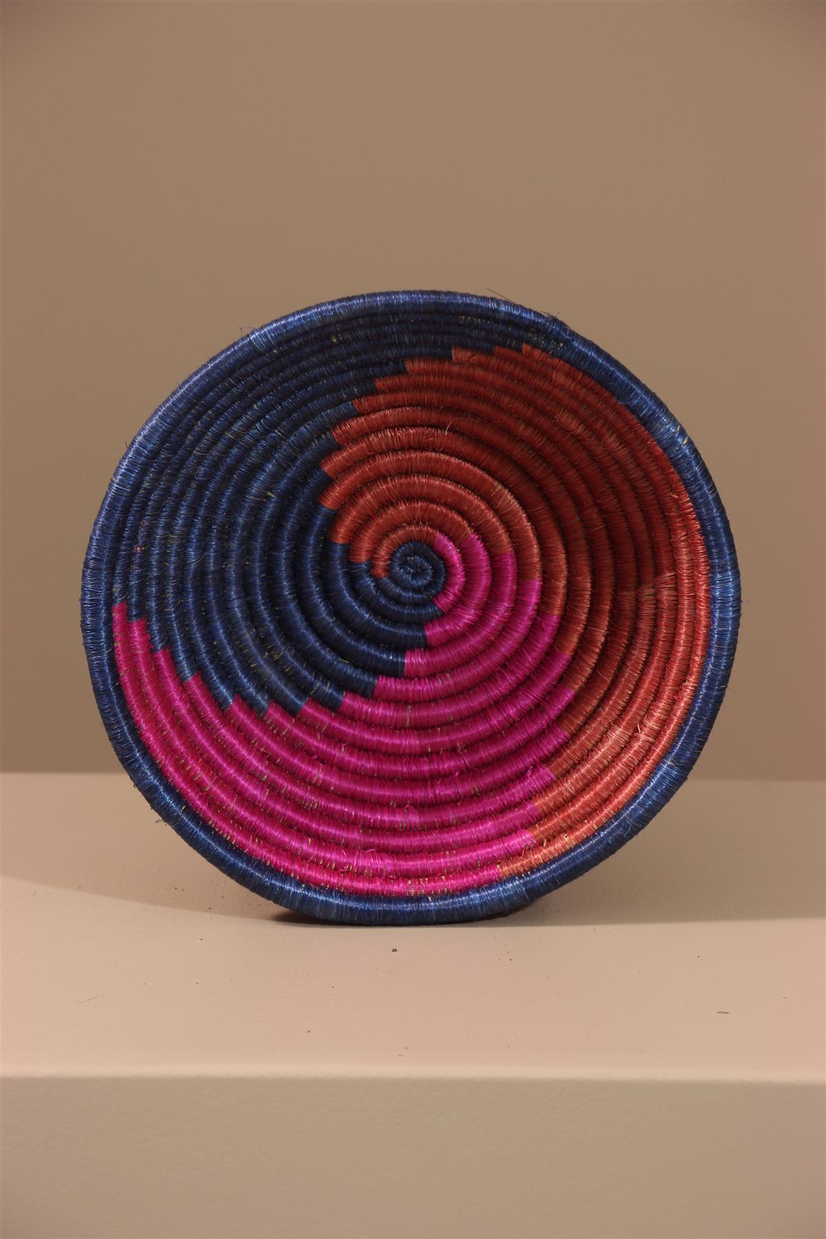 Panier Tutsi - Déco africaine - Art africain traditionnel
