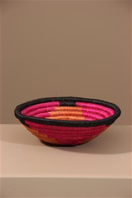 Déco africaine - Art africain traditionnel - Panier Tutsi