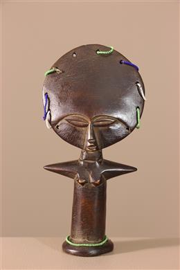 Déco africaine - Art africain traditionnel - Poupée Ashanti