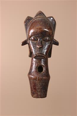 Déco africaine - Art africain traditionnel - Figure de reliquaire Fang