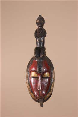 Masque Baule / Yaure de Côte d Ivoire