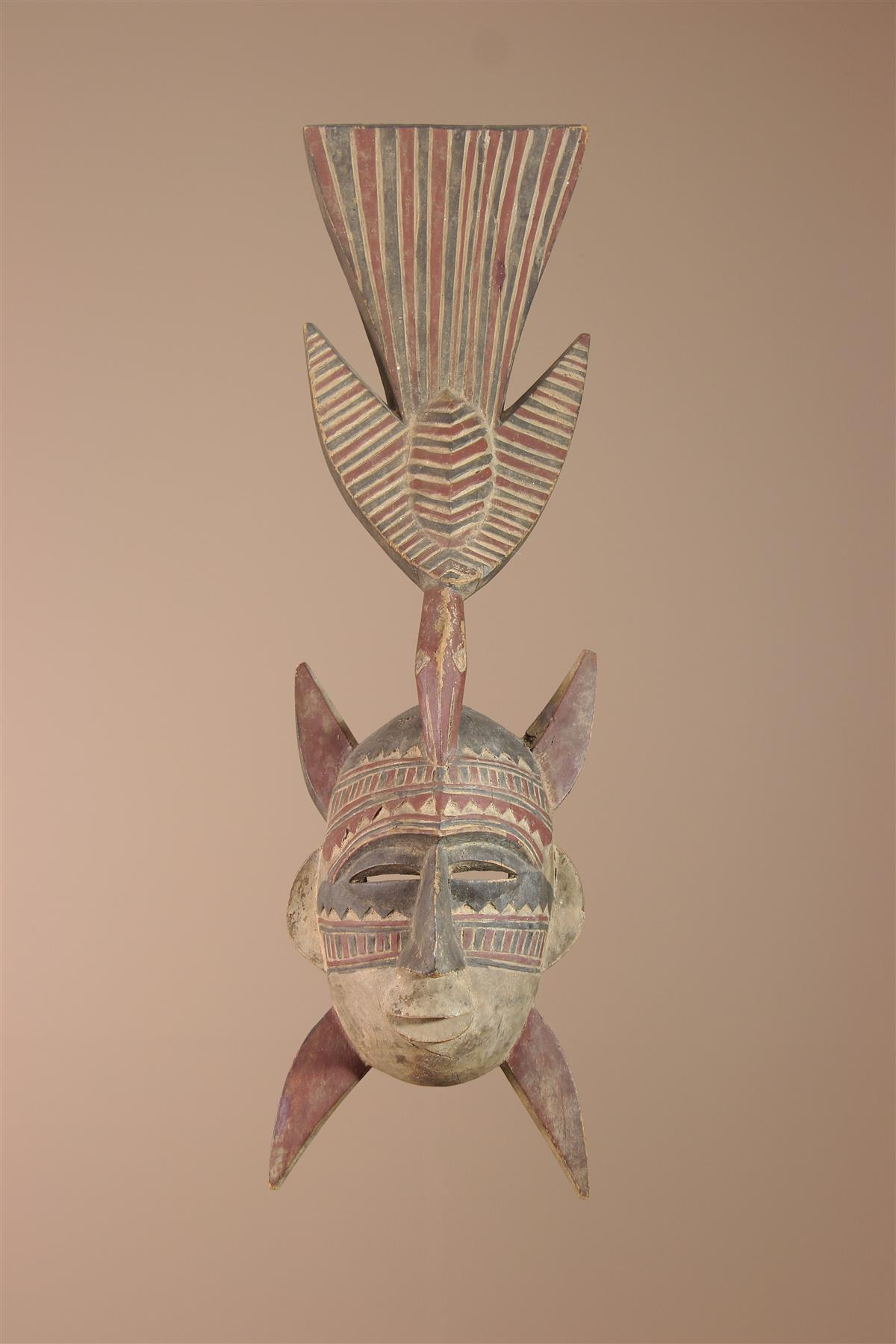Masque Senoufo - Déco africaine - Art africain traditionnel