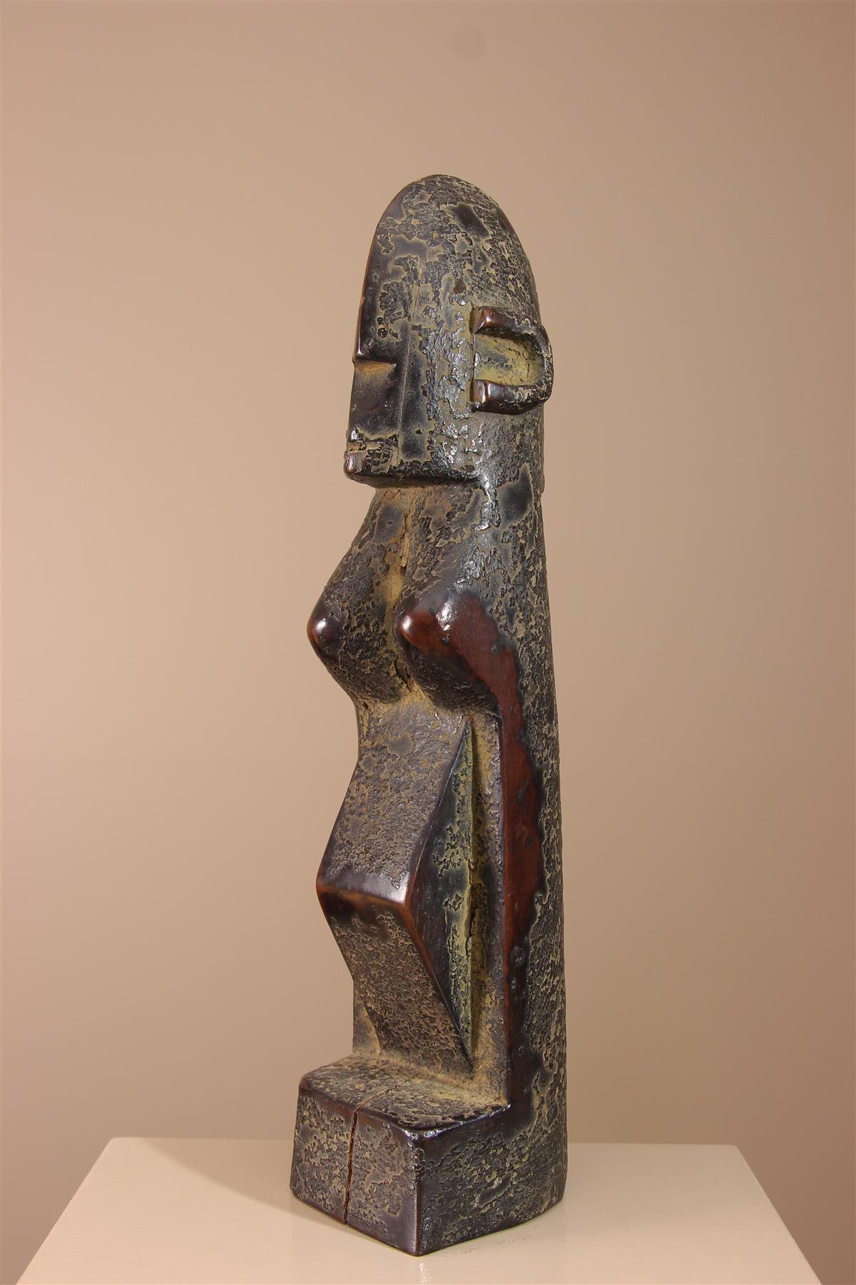 Statue Mumuye - Déco africaine - Art africain traditionnel