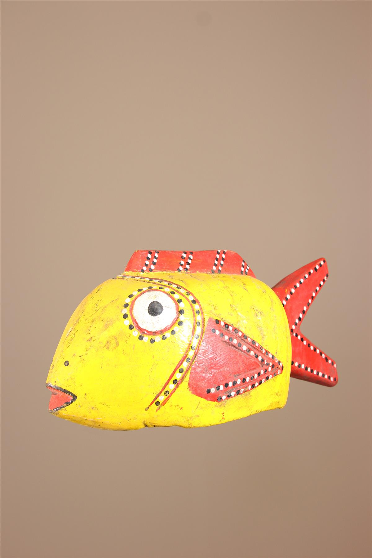 Poisson Bozo - Déco africaine - Art africain traditionnel