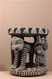 Tabourets, chaises, trônesSiège Bamileké