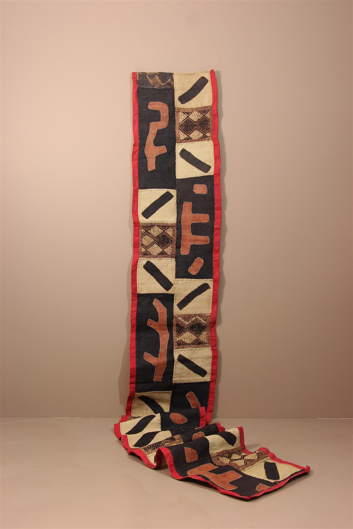 Textile Kuba - Déco africaine - Art africain traditionnel