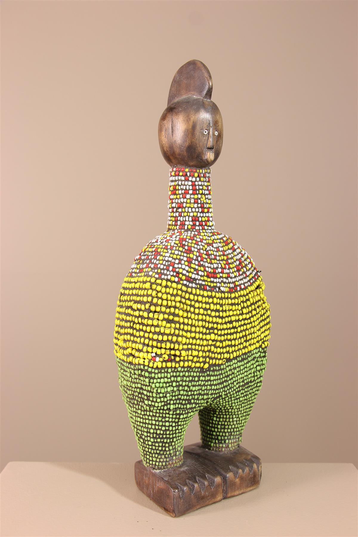 Poupée Namji - Déco africaine - Art africain traditionnel