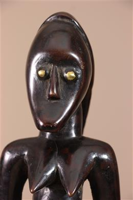 Déco africaine - Art africain traditionnel - Statuette Fang Gabon