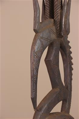 Déco africaine - Art africain traditionnel - Masque cimier Ci Wara des Bamana