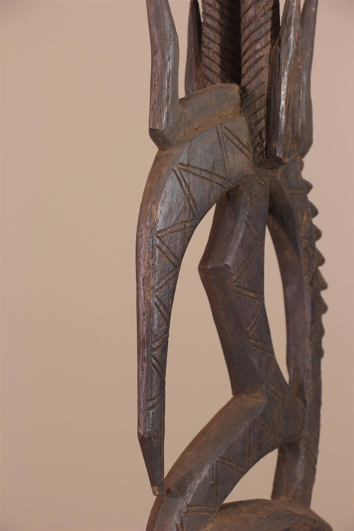 Masque Ci wara - Déco africaine - Art africain traditionnel