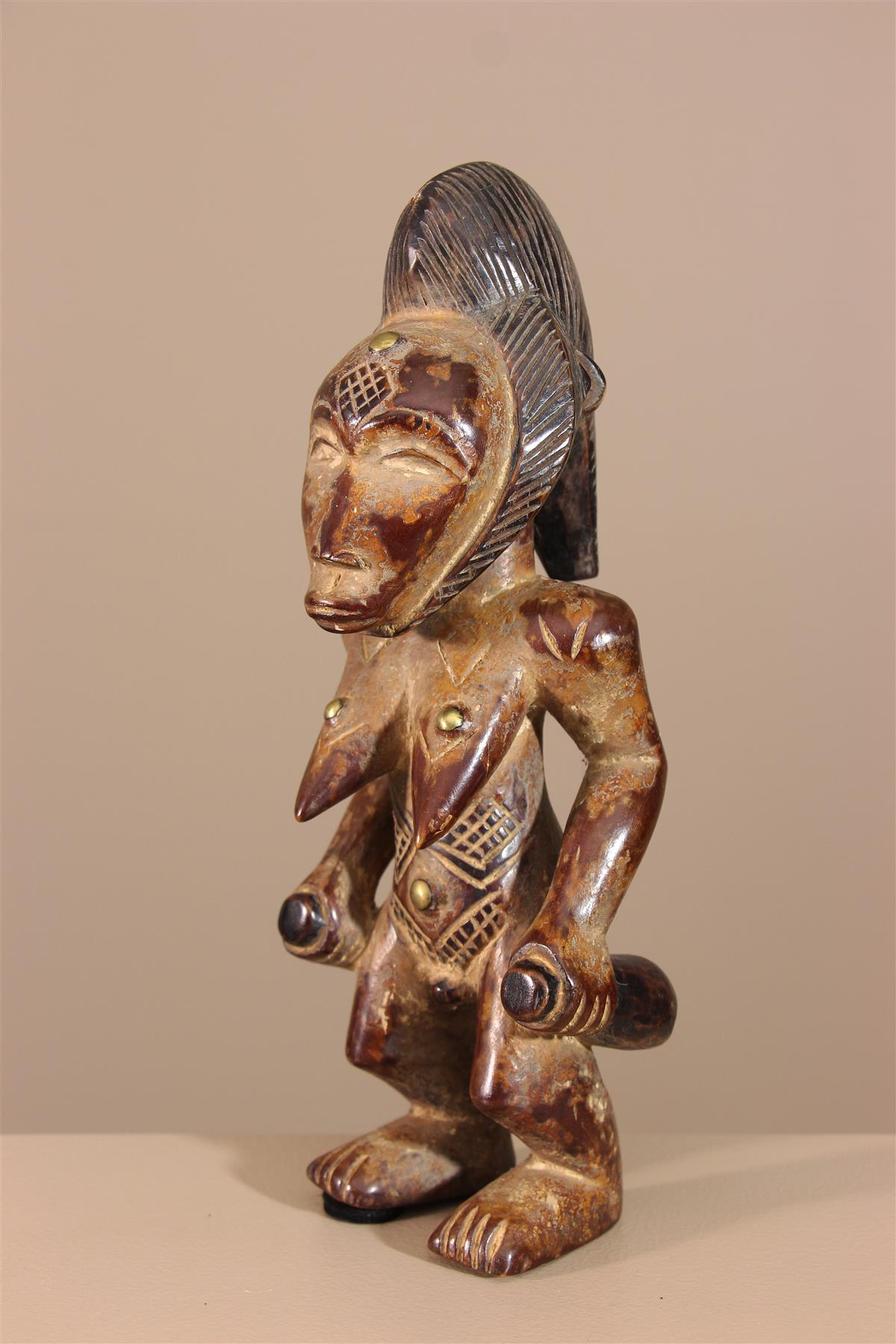 Statuette africaine - Déco africaine - Art africain traditionnel