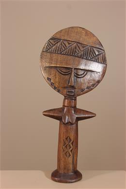 Déco africaine - Art africain traditionnel - Poupée de fécondité Ashanti du Ghana