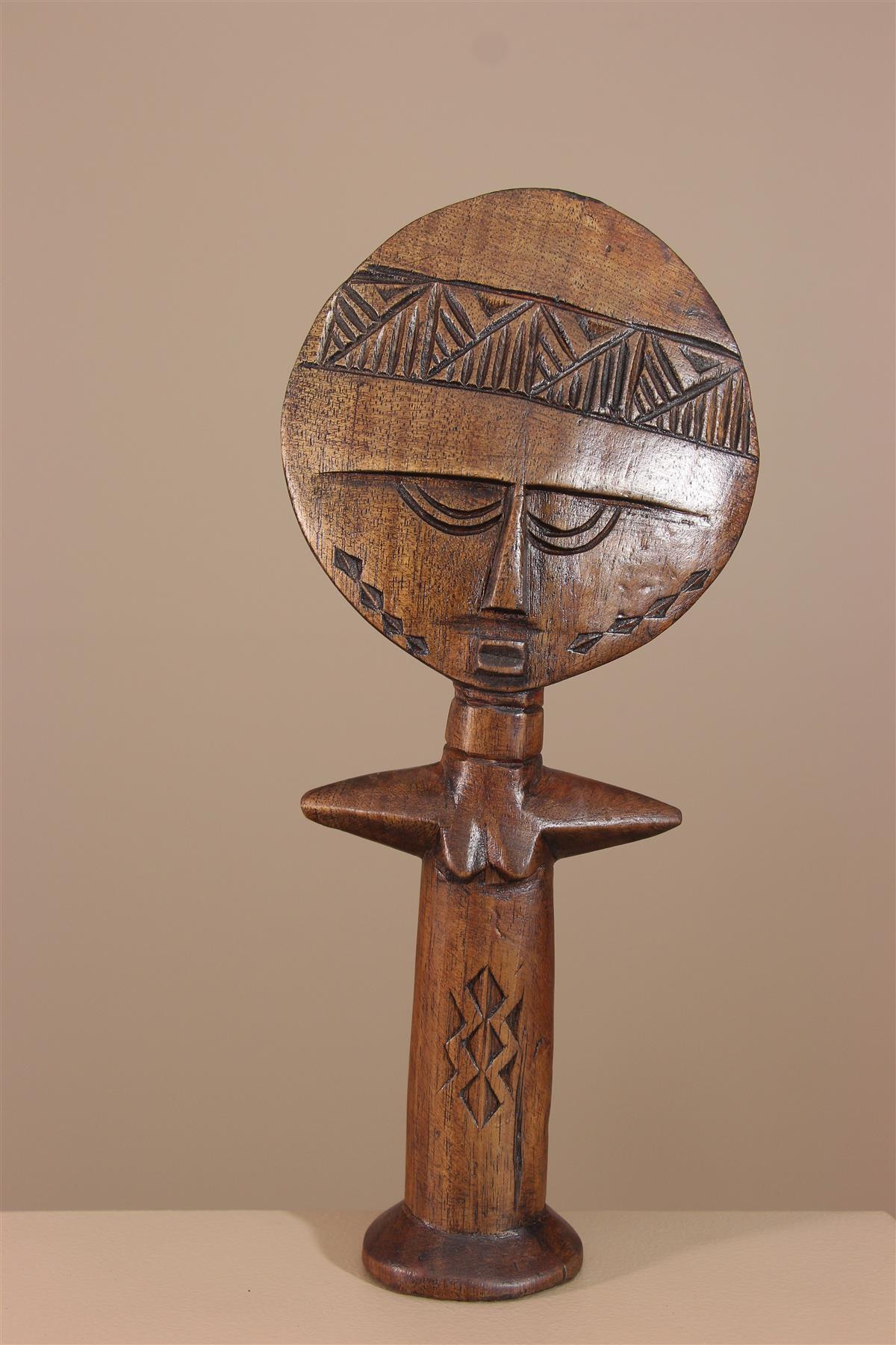 Poupée Ashanti - Déco africaine - Art africain traditionnel