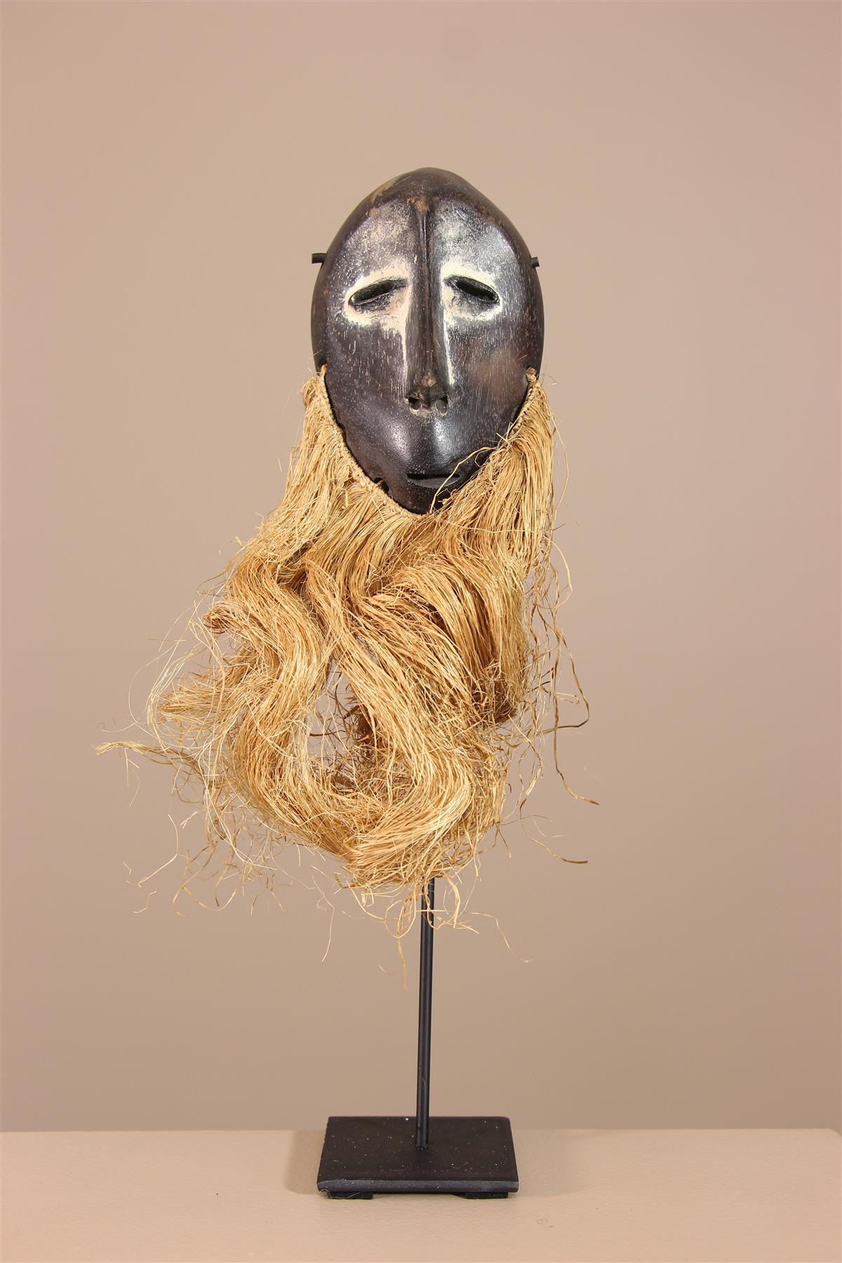 Masquette Lega - Déco africaine - Art africain traditionnel