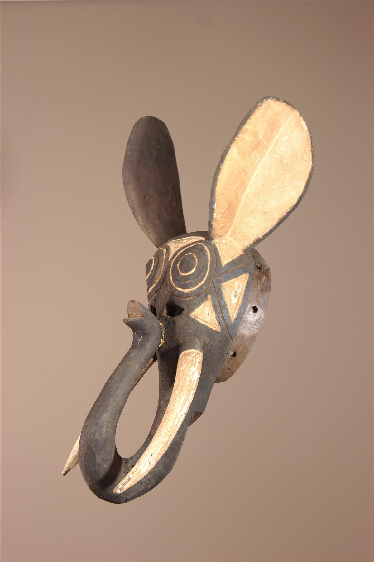 Masque Gurunsi - Déco africaine - Art africain traditionnel