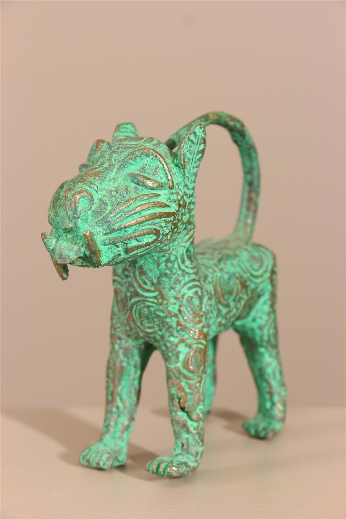 Bronze Bénin - Déco africaine - Art africain traditionnel