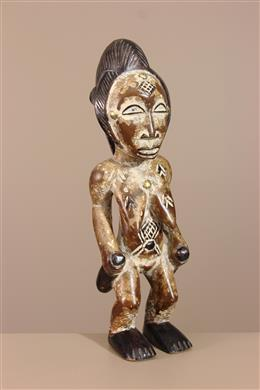 Déco africaine - Art africain traditionnel - Statuette tribale Punu