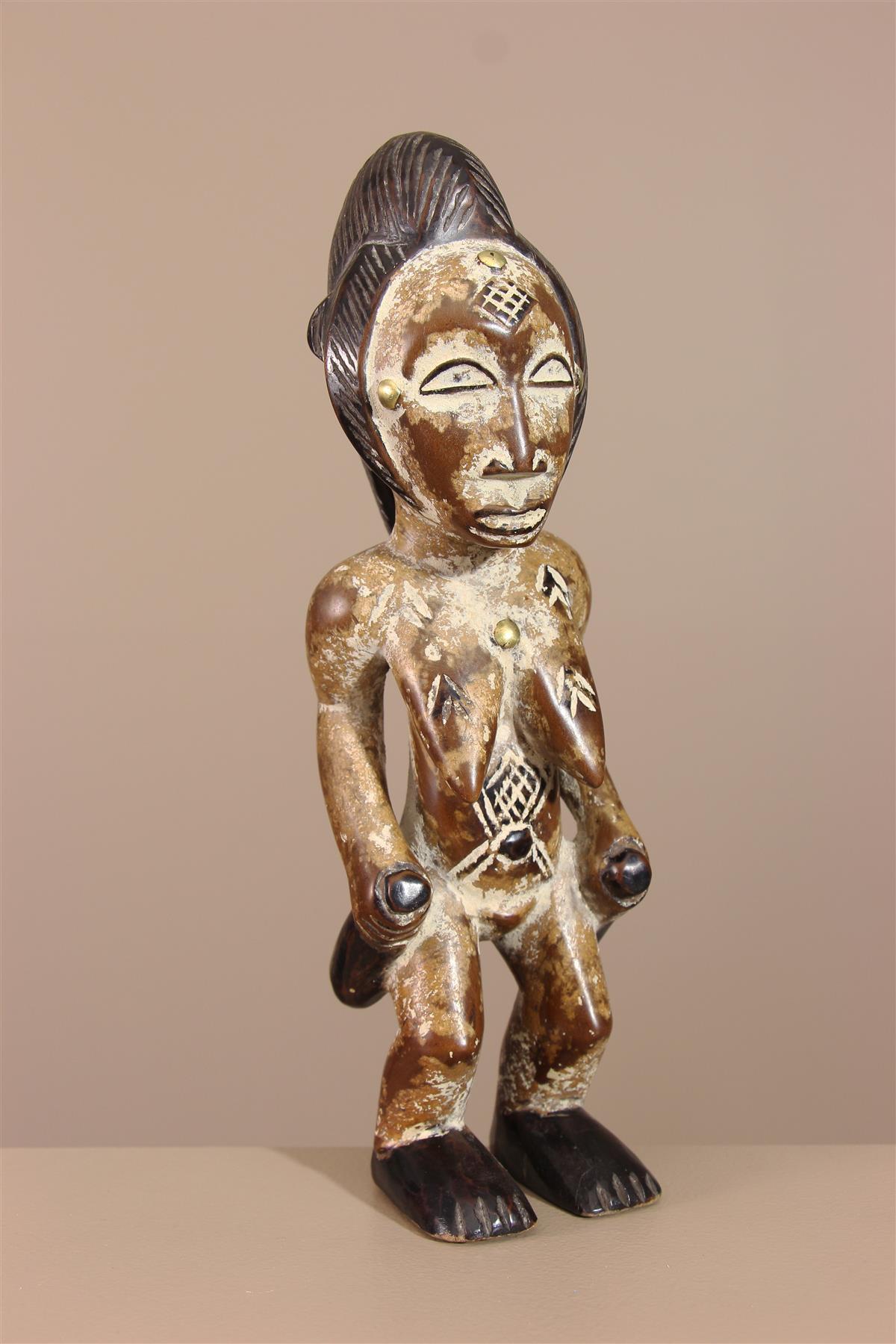 Statuette Punu - Déco africaine - Art africain traditionnel