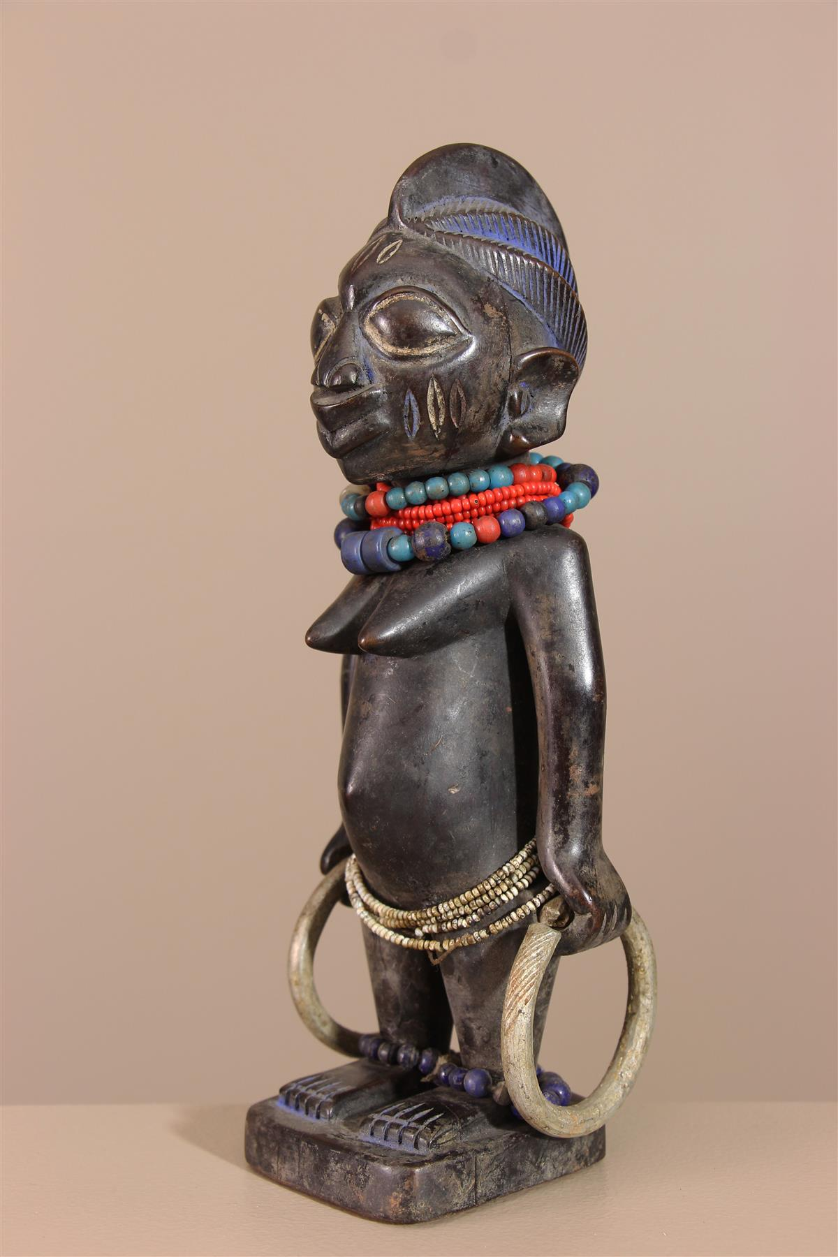 Statuette Ibedji - Déco africaine - Art africain traditionnel