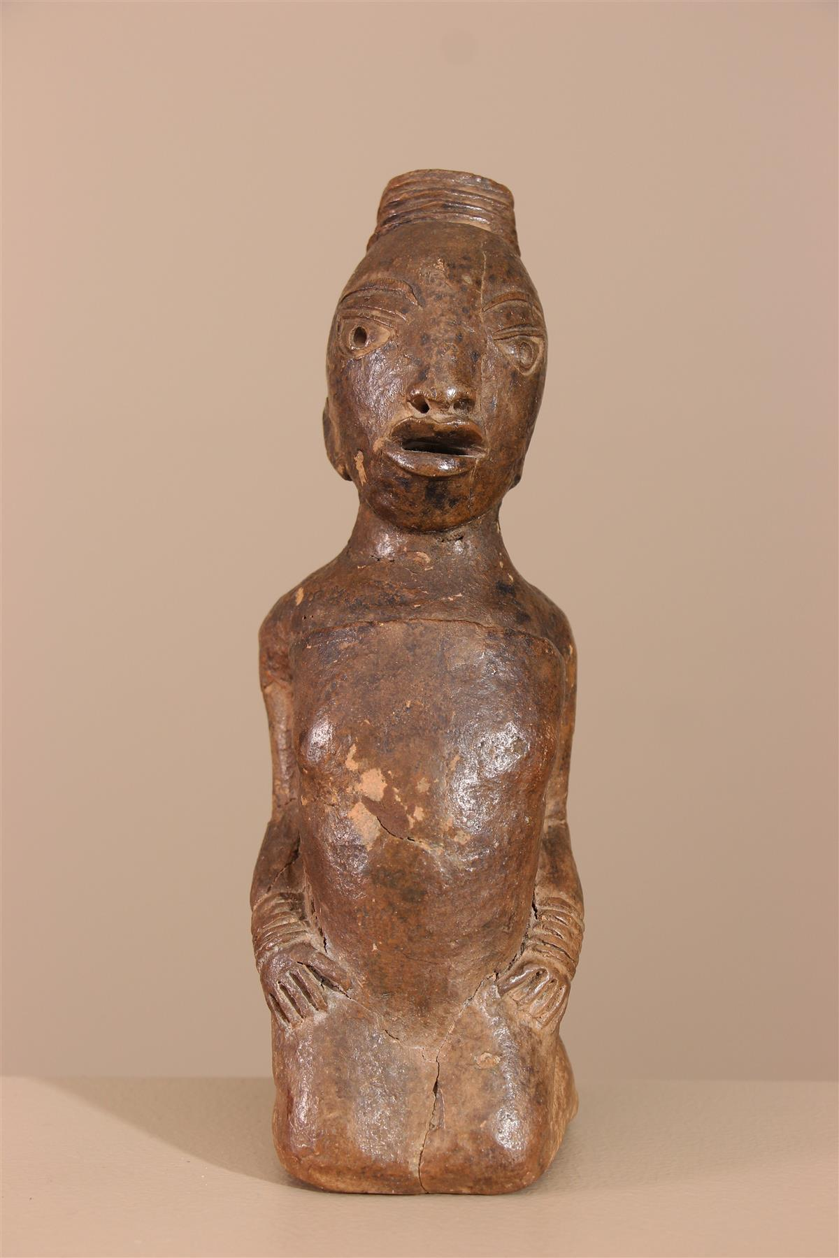 Statuette type Nok - Déco africaine - Art africain traditionnel