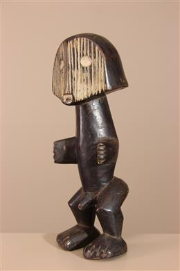 Statuette tribale Metoko de R.D.C.