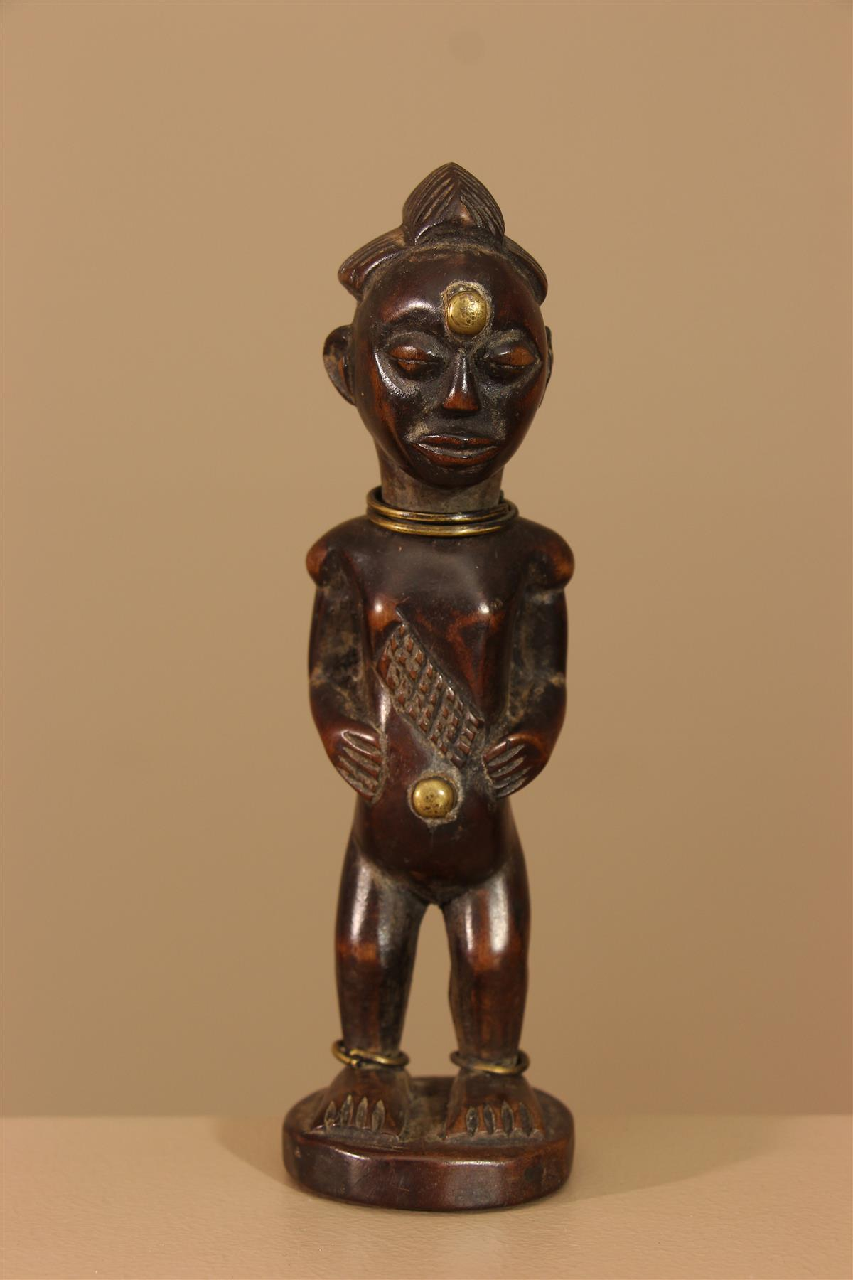 Statuette Punu - Déco africaine - Art africain traditionnel