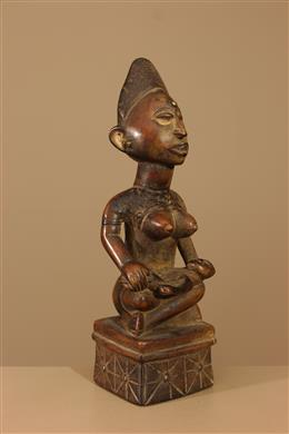 Déco africaine - Art africain traditionnel - Maternité Kongo Phemba