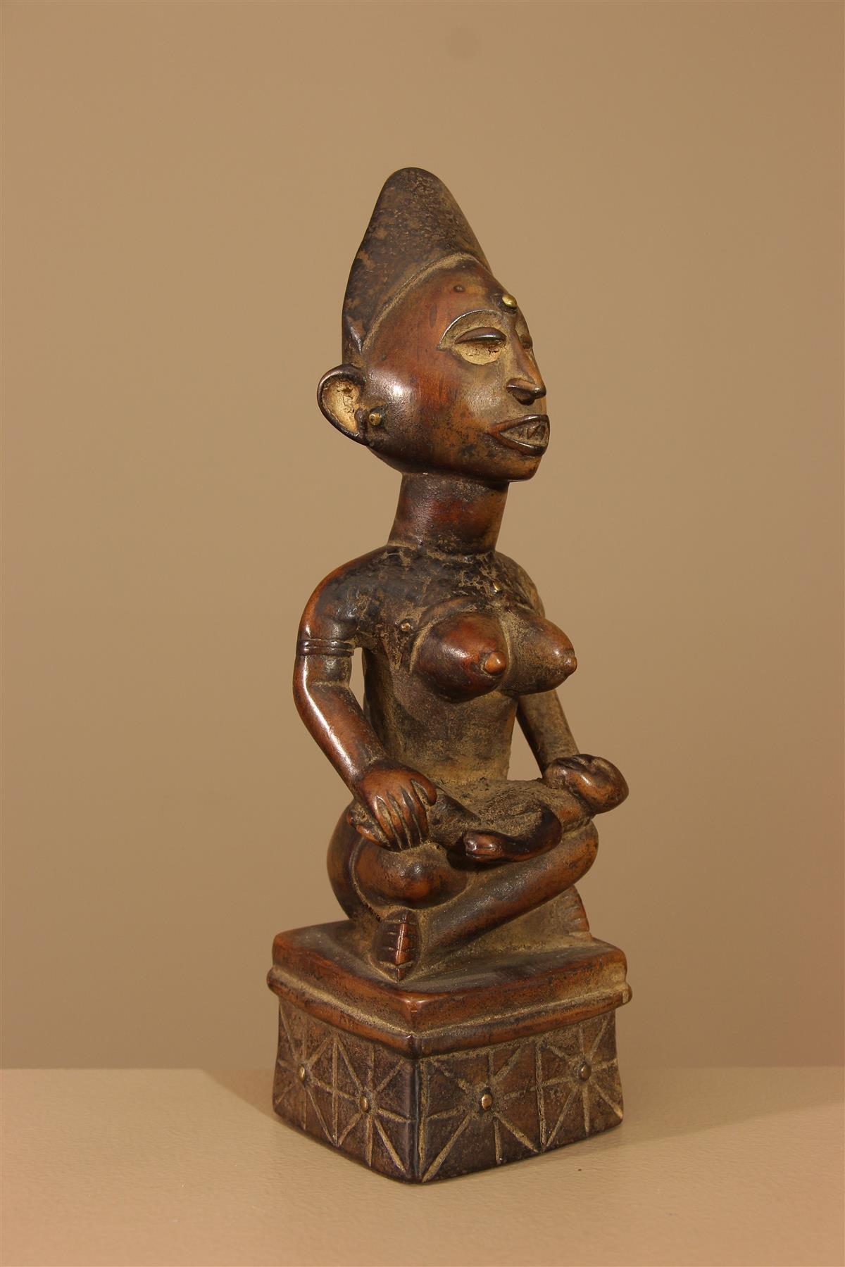 Statuette Kongo - Déco africaine - Art africain traditionnel