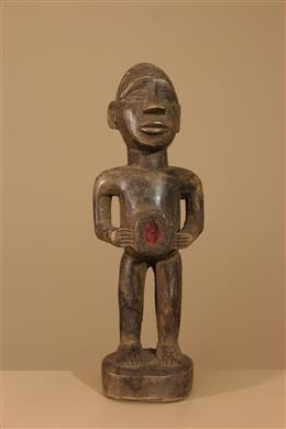 Déco africaine - Art africain traditionnel - Statuette Kongo Vili Nkisi