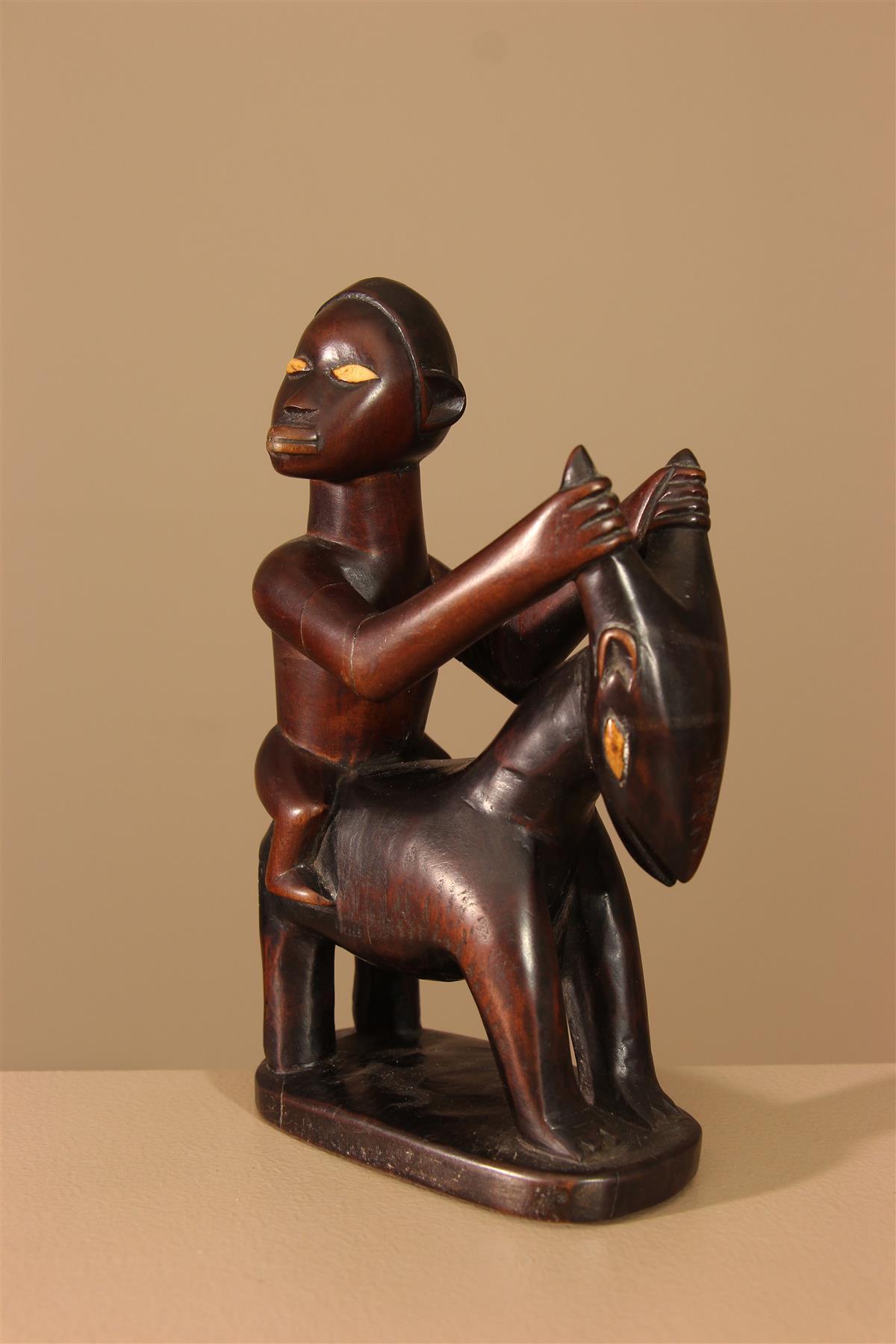 Statue Bembé - Déco africaine - Art africain traditionnel