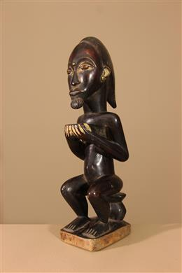 Déco africaine - Art africain traditionnel - Statuette Baoule Waka sona