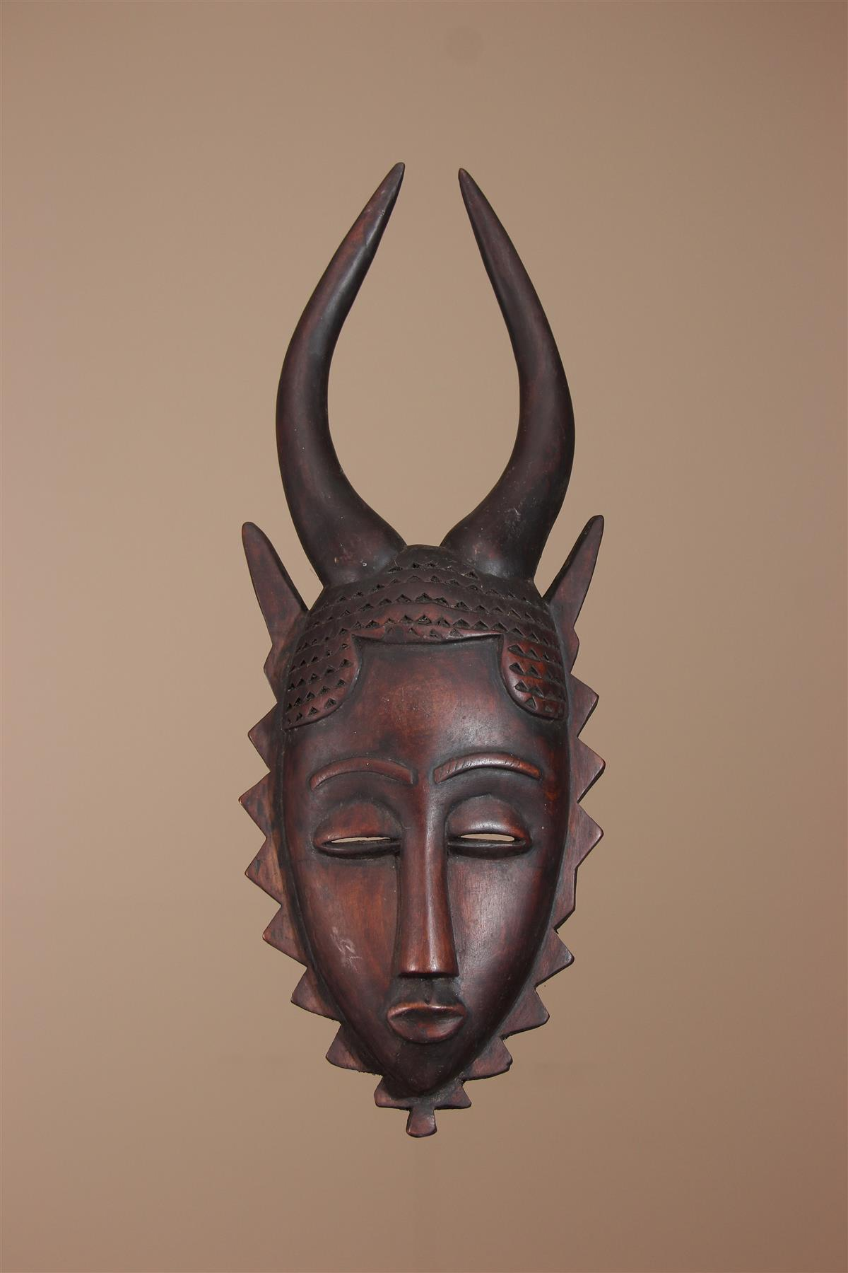 Masque Baoule - Déco africaine - Art africain traditionnel