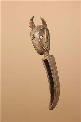 Déco africaine - Art africain traditionnel - Masque Dan à bec