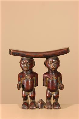 Déco africaine - Art africain traditionnel - Appui-nuque africain figuratif