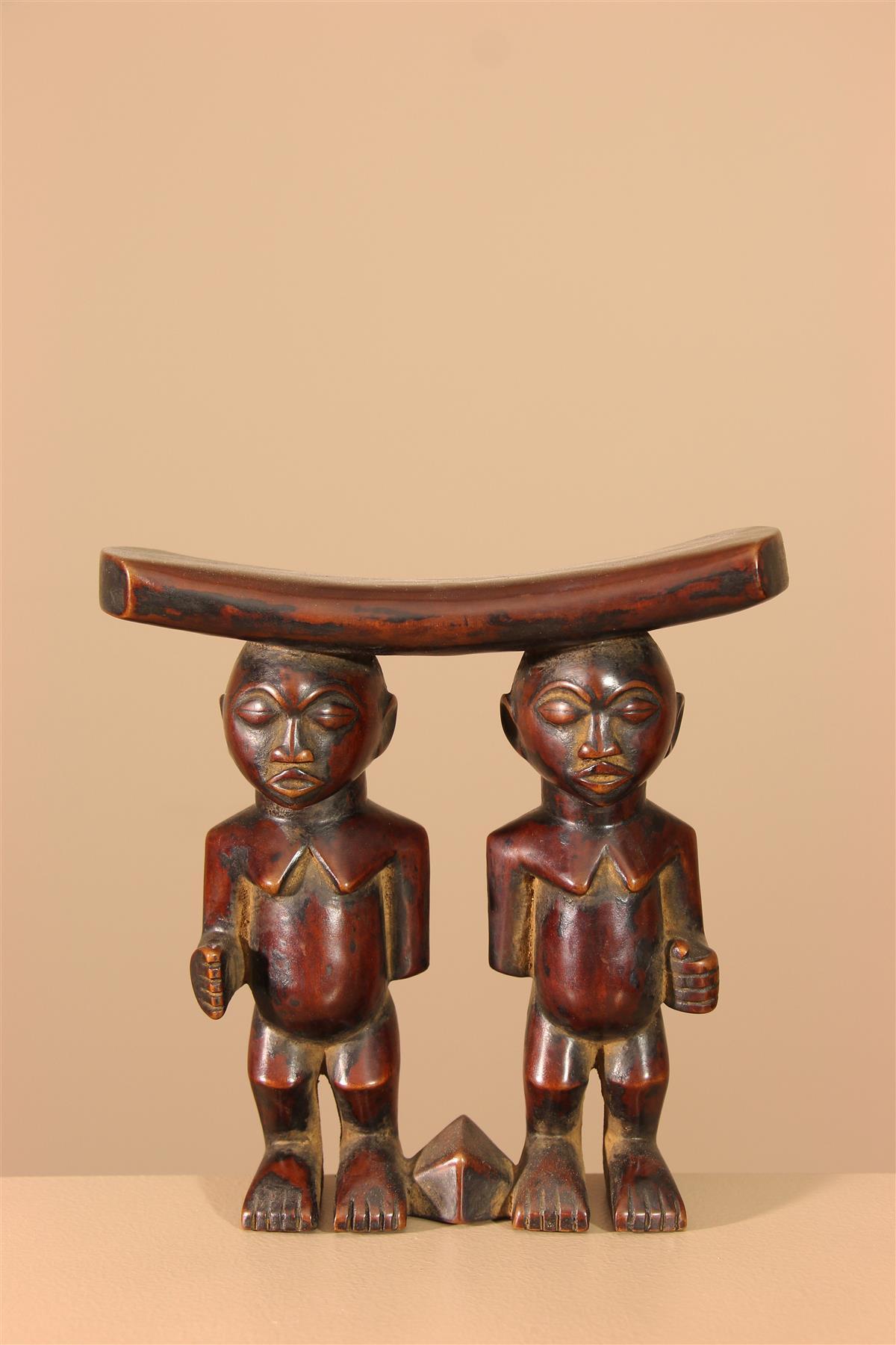 Appuie-nuque tribal - Déco africaine - Art africain traditionnel