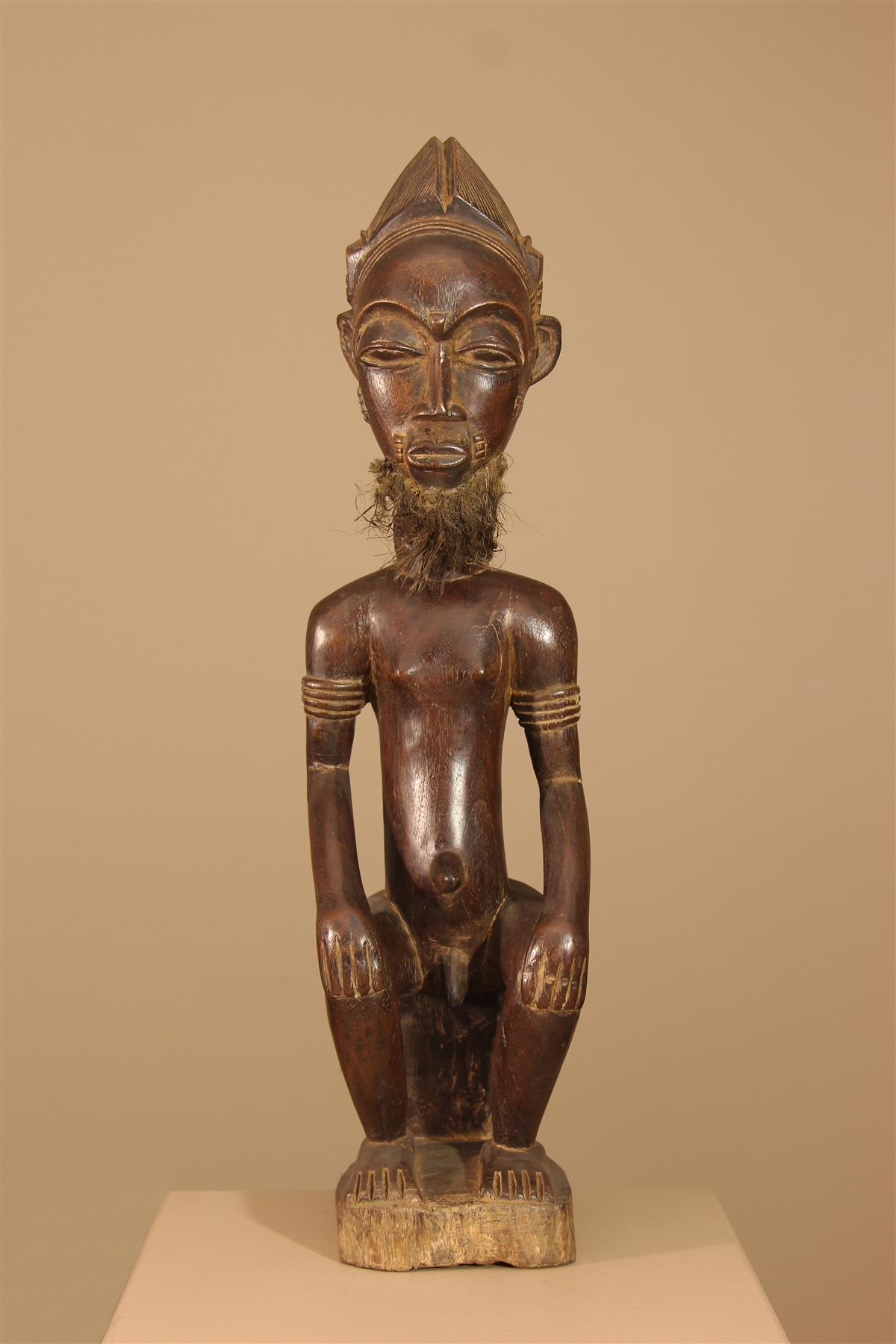 Statue Baoule - Déco africaine - Art africain traditionnel