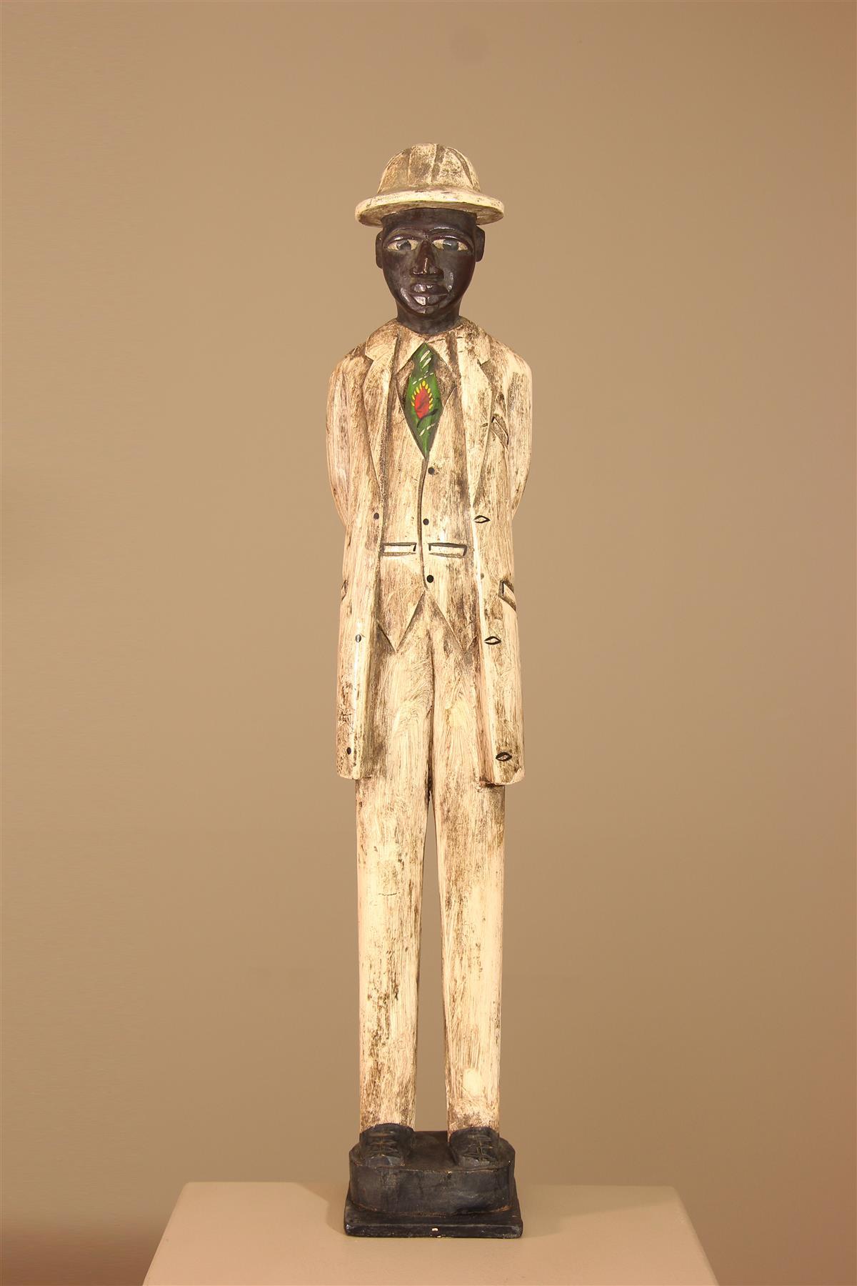 Colon Baule - Déco africaine - Art africain traditionnel
