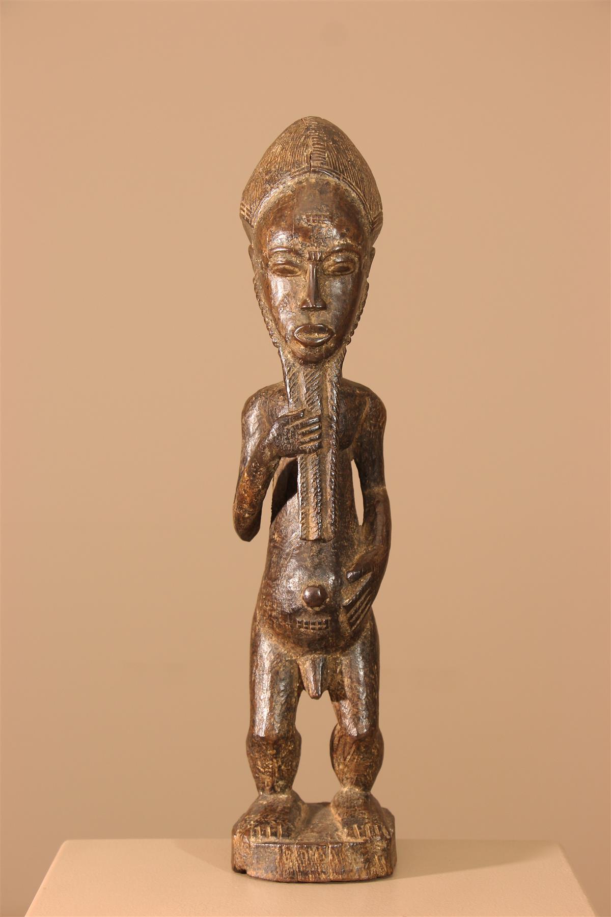 Statuette Côte d'Ivoire - Déco africaine - Art africain traditionnel