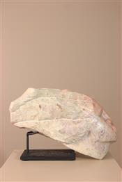 Statues africainesTête sculptée