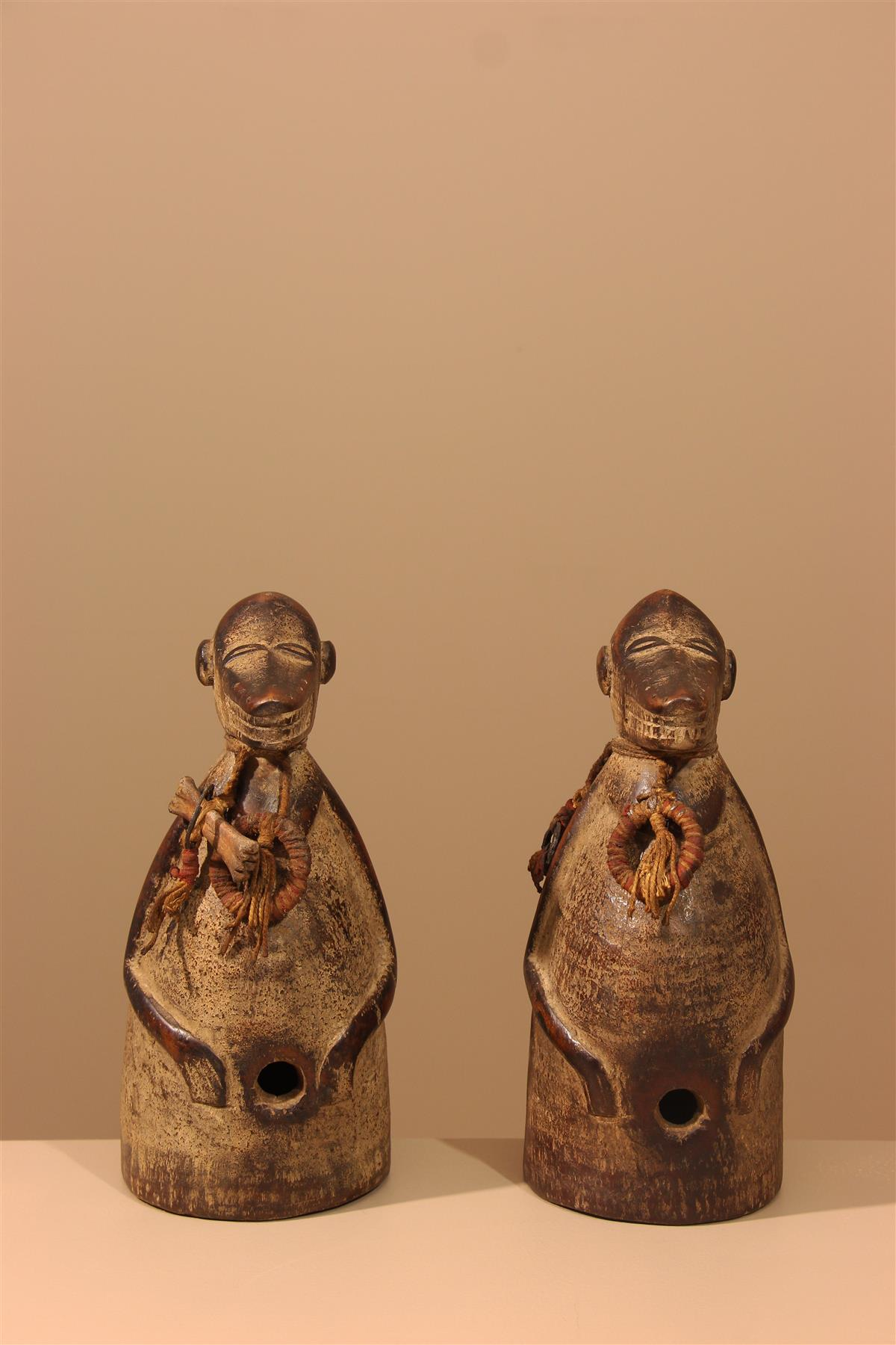 Statuettes Baule - Déco africaine - Art africain traditionnel