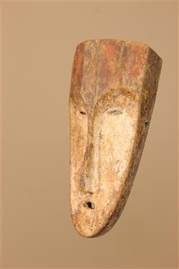 Déco africaine - Art africain traditionnel - Masquette Fang du Gabon