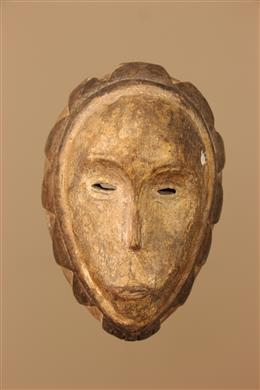 Déco africaine - Art africain traditionnel - Masquette Fang  Gabon