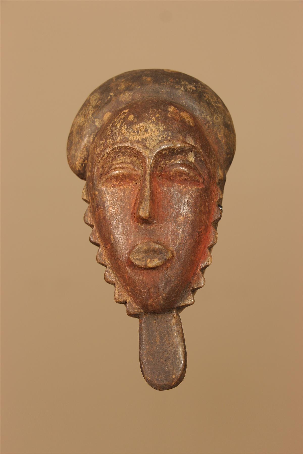 Masquette Baule - Déco africaine - Art africain traditionnel