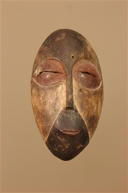 Déco africaine - Art africain traditionnel - Petit masque Galoa Okuyi