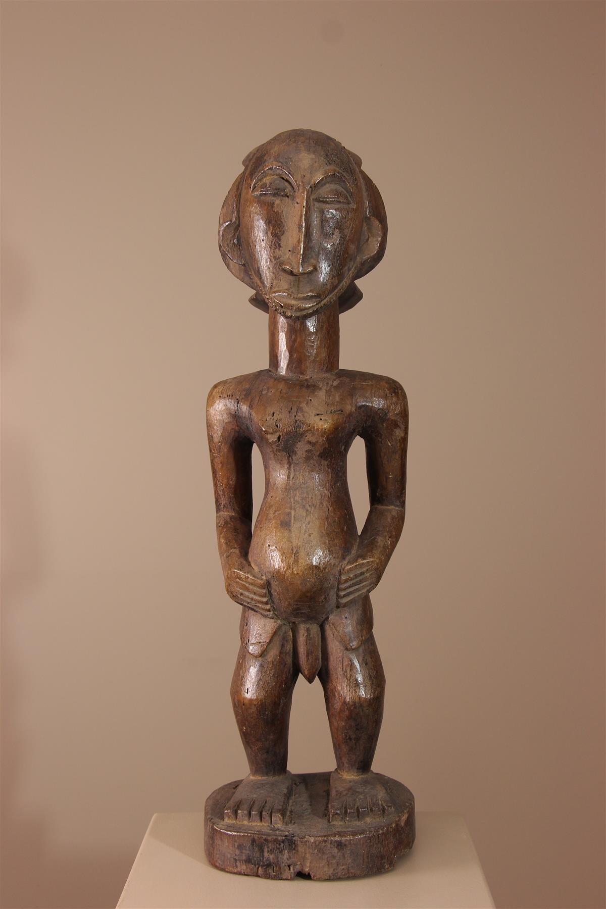 Statue Hemba - Déco africaine - Art africain traditionnel