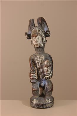 Déco africaine - Art africain traditionnel - Statuette Ikenga Igbo