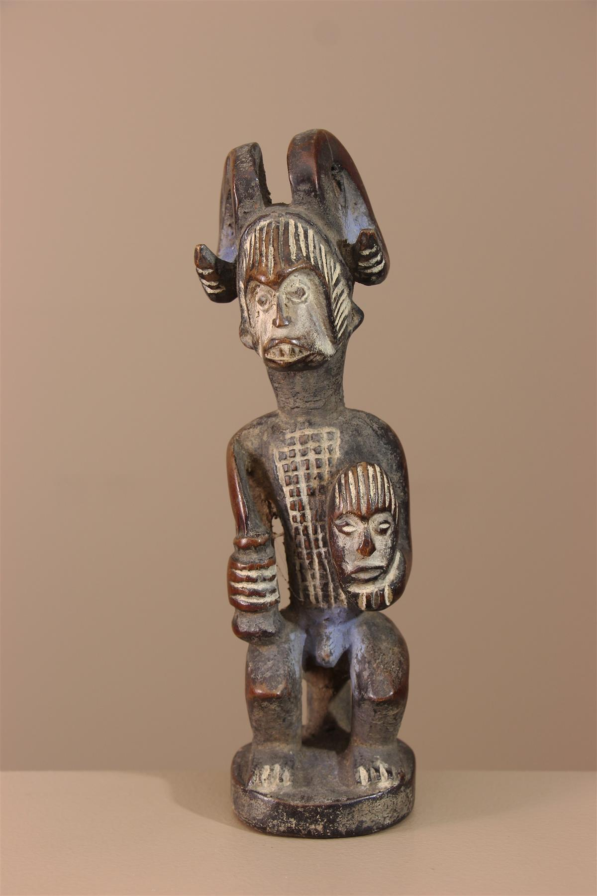 Statuette Igbo - Déco africaine - Art africain traditionnel
