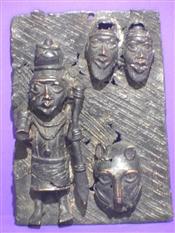 Plaques en bronzeBronze Edos Benin