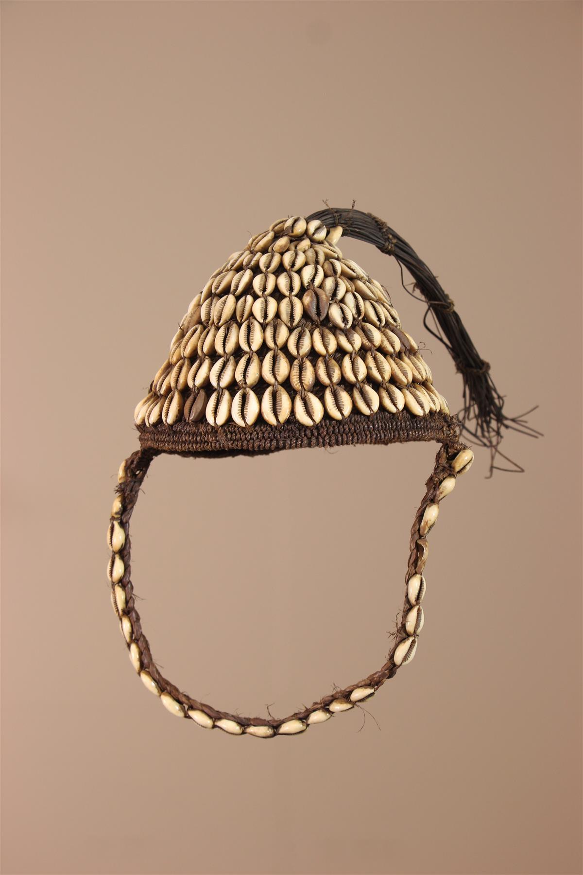 Coiffe Lega - Déco africaine - Art africain traditionnel
