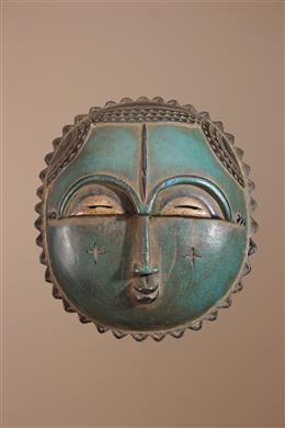 Masque Lune Baule Côte d Ivoire